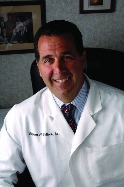 Dr. Stephen Pollock is a cardiologist at University of Maryland St. Joseph Medical Center.