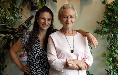 Emily Lerman, left, founder of the Mera Kitchen Collective, and Irena Stein, owner of Alma Cocina Latina, have started a foundation called the MK Foundation, which focuses on food for underserved communities.