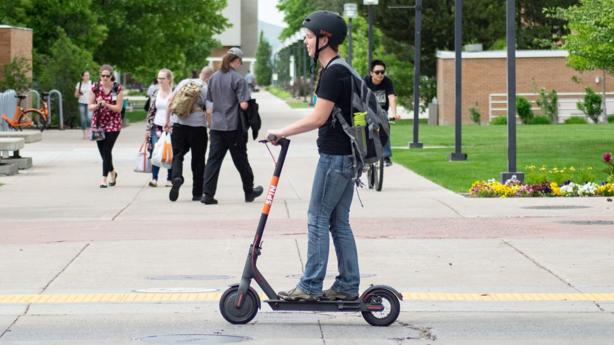 There's another scooter option in Baltimore now, with the