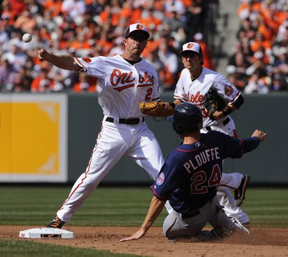 Shortstop J.J. Hardy and the Orioles had a historic defensive season in 2013, which is being recognized as six O's are finalists for Gold Glove Awards.