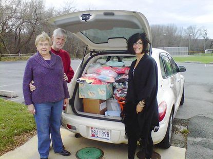 Neighbors in the News: Community Knitting and Crocheting Group donates 50 blakets