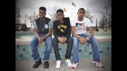 Lor Roger, Dooley, and Tlow, the Baltimore county teens behind 'CIT4DT'