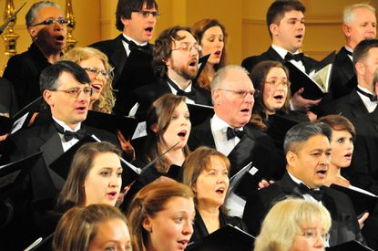 Baltimore Choral Arts Society is among the organizations participating in Free Fall Baltimore.