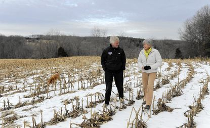 """Deirdre Smith and Doug Carroll want to turn their property into Rush Mill Preserve, which will offer """"green burials"""" to people who would not be embalmed after death."""