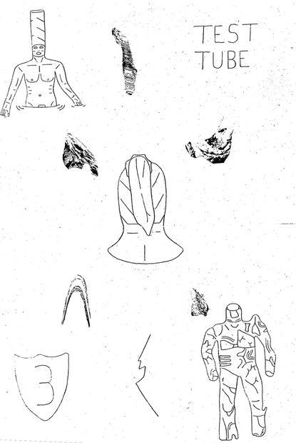 "1. Carlos Gonzalez ,""Test Tube #3"" (self-published)"