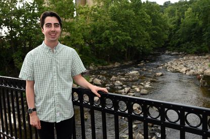 Riley Goodman is working on a multi-media exhibit about last summer's Ellicott City flood. The exhibit opens July 29 at the Museum of Howard County History.