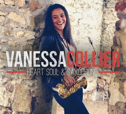 A 2009 graduate of River Hill High School, Vanessa Collier, seen on the cover of her CD, has travled the globe with her saxophone.
