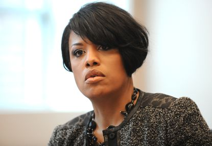 """Baltimore Mayor Stephanie Rawlings Blake said some police officers may have """"unease"""" in performing their job duties for fear they could become the """"next Darren Wilson."""""""