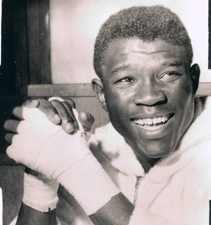 Emile Griffith in 1963. The former world welterweight and middleweight champion died July 23 at the age of 75.
