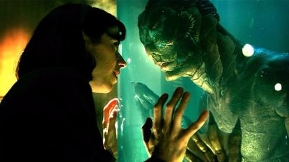 """Sally Hawkins and Doug Jones star in """"The Shape of Water,"""" which received seven nominations for Golden Globe awards."""