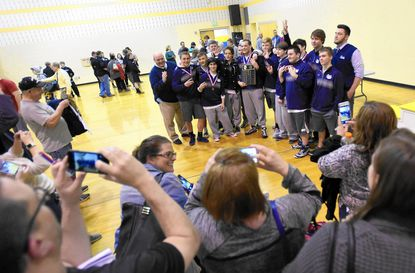 Bel Air crowns four champs, wins UCBAC wrestling title for third straight year