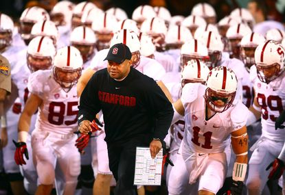Coach David Shaw and Stanford have grown accustomed to going to major bowls. This year, they stay close to home and face Maryland in the Foster Farms Bowl.