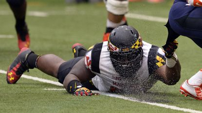 Terps defensive tackle Darius Kilgo.