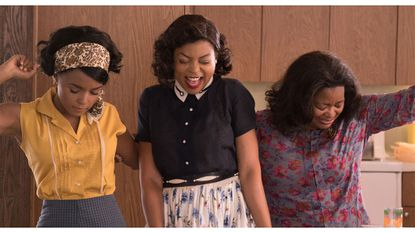 """""""Hidden Figures"""" is full of great performances and black love—and um, features Kevin Costner personally ending racism"""
