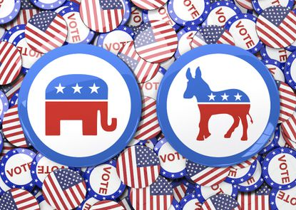 The Democrat and Republican parties seem to be reversing roles, Jonah Goldberg believes.