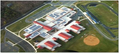 Solar panels will be installed at four schools by the end of 2020, estimated to save the Harford school system $1.5 million to $1.8 million under a 25-year agreement with Constellation Energy. Six schools are already solar electric sites, including Patterson Mill Middle/High.