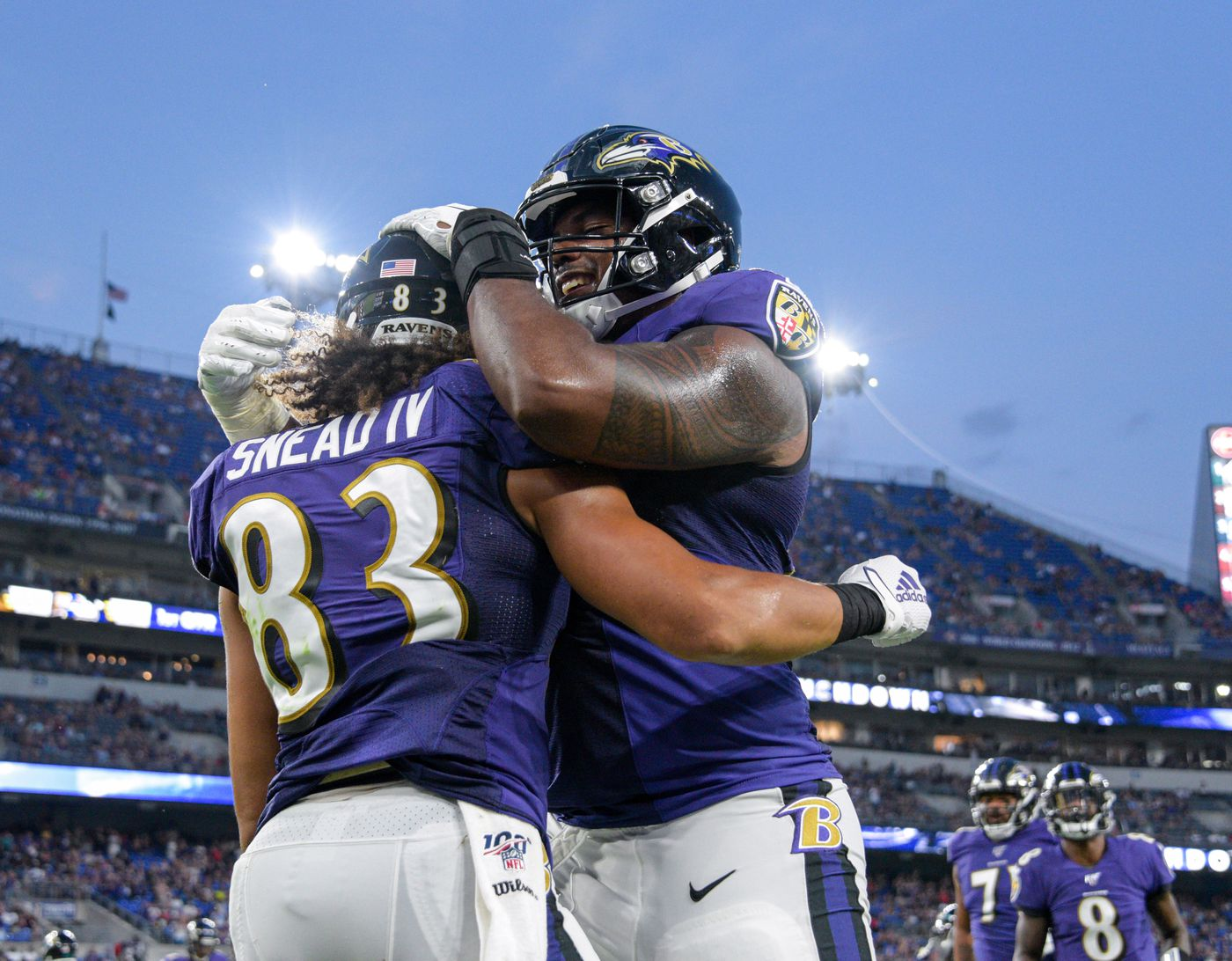 the latest 4958a b4a31 Projecting the Ravens' 53-man roster: How does Tavon Young's ...