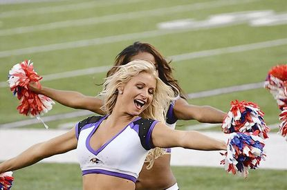 "Baltimore Ravens cheerleader ""Angel,"" a Bel Air resident, will represent the team and her fellow squad members and the Pro Bowl in Hawaii on Jan. 27. She is a six-year Ravens cheeleader and the squad's captain."