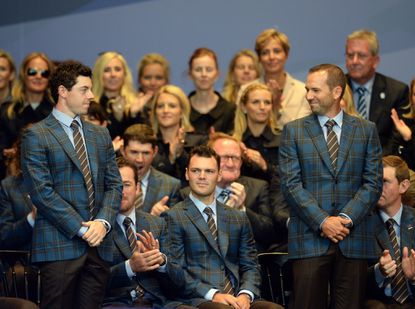 Ryder Cup teams announce pairings for Friday morning matches