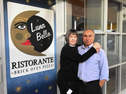 Luna Bella Ristorante owners Celeste Gebler and Joe Iacia are closing their business in the Hickory Ridge Village Center at the end of December, following failed lease renegotiations with property owner Kimco Realty.