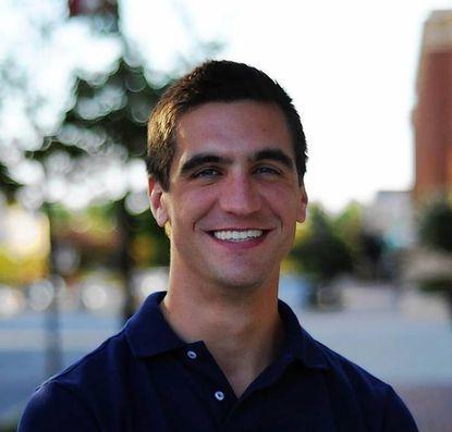 Nick Stewart, candidate for District 12 delegate