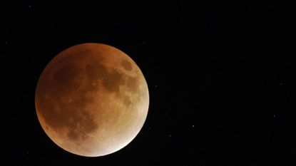 A lunar eclipse from September 2015 in Westminster is shown. A similar eclipse — being referred to as the Super Blood Wolf Moon — will occur overnight Sunday, Jan. 20, and into the early morning of Monday, Jan. 21, 2019.