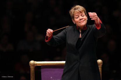 Baltimore Symphony music director Marin Alsop