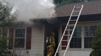 No one injured in Westminster house fire