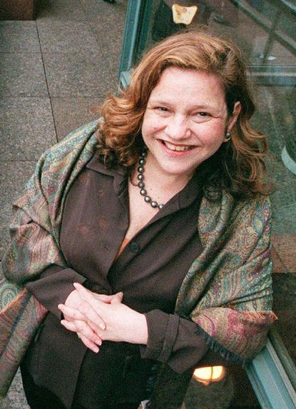 Wendy Wasserstein poses in New York in this May 23, 2000 file photo.
