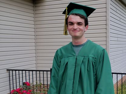 Jacob Gay, of White Hall, is a recent graduate of North Harford High School, and plans to attend the University of Tampa to study psychology and work with youth struggling with anxiety.