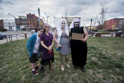 Vigil held for slain transgender woman Alphonza Watson