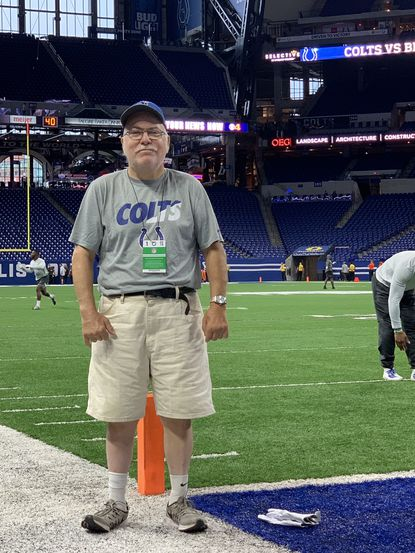 Rich Moscarello worked with the Colts for more than 30 years.
