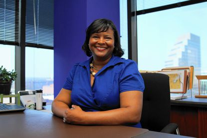 Brenda McKenzie is the president and CEO of Baltimore Development Corporation.