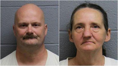 Vincent Santymire, 49, left, and Eloise Yost, 57