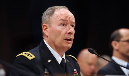 Gen. Keith Alexander, head of the National Security Agency, appears before the House Intelligence Committee.