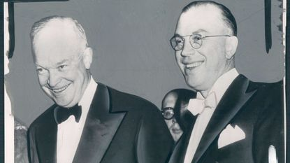 President Dwight Eisenhower, left, with his brother Milton, in 1953.