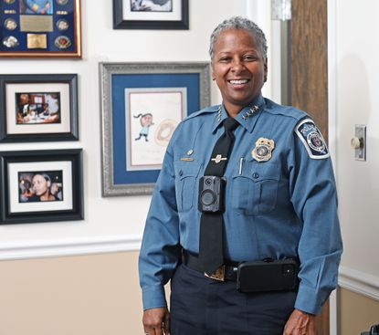 Three things you might not know about Anne Arundel County Police Chief Amal Awad.