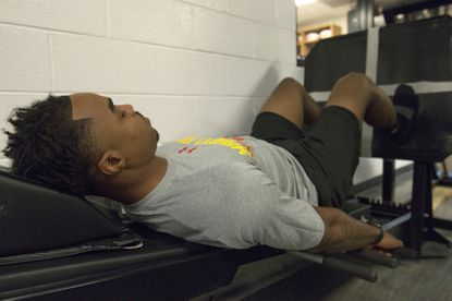 Terps' Will Likely focuses on an NFL career as he continues rehab from torn ACL