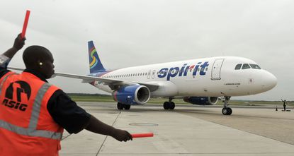 Spirit Airlines offers service at Baltimore-Washington International Thurgood Marshall Airport.