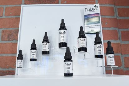 Sublingual CBD Oils available for purchase at Java N Jane, an Annapolis based cafe that serves coffee and CBD-infused products. Local health departments are being tasked with investigating companies that are selling CBD-infused products, but only on a complaint basis. This means only some businesses have been penalized while others are continuing to profit off CBD.