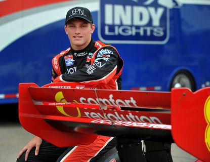 Sage Karam, 18, could be making a bid for an IndyCar ride after having success at each level of the developmental series.