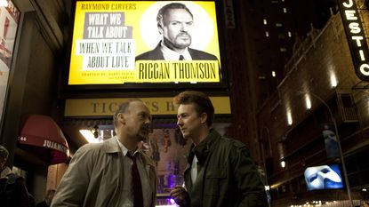 """Of the films that did get the nod, it is no shock that """"Birdman's"""" seamless ensemble is in the running. Michael Keaton, left, Edward Norton, right, Emma Stone, Zach Galifianakis, Andrea Riseborough, Amy Ryan, Naomi Watts -- they truly are the wind beneath Birdman's wings."""