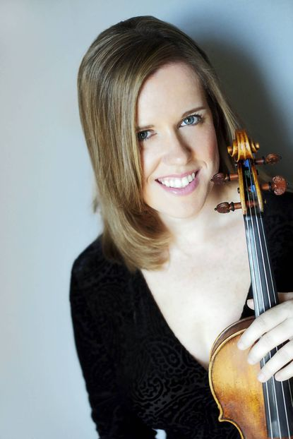 Violinist Madeline Adkins is a familiar face to local classical music fans.