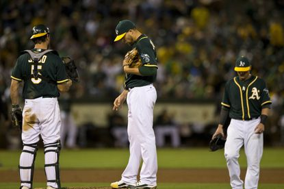 Jim Johnson struggled for almost the entirety of his tenure in Oakland.