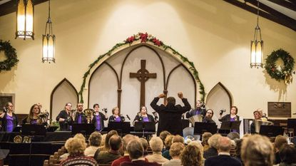 Chestnut Grove Presbyterian Church in Phoenix, Md., concludes its yearlong 175th anniversary celebration with a bell concert by the Westminster Ringers on Dec. 1.