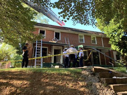 Baltimore firefighters were dispatched to an incident in the 1200 block of Seminole Ave on Monday Sept. 16, 2019.