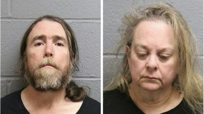 """John J. Roberts, 49 and Laura S. Filler, 55, were arrested in Westminster and have been<a href=""""https://www.carrollcountytimes.com/news/crime/cc-animal-cruelty-dogs-040919-story.html"""" target=""""_blank"""">charged with 51 counts each, including animal cruelty and aggravated animal cruelty.</a>"""