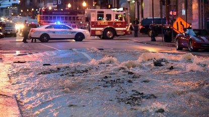 A recent water main break in the 1200 block of Charles Street demonstrates the extent of Baltimore's water woes.