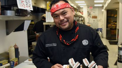 Kaimana Chee, owner of Uncle's Hawaiian Grindz in Fallston, is one of several chefs participating in cooking competitions at the June 22 Maryland Foodie Festival at Ripken Stadium in Aberdeen.