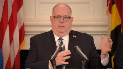 Gov. Larry Hogan (R-Md.) is facing criticism from some environmental advocates for a plan to connect more homes in the state to natural gas lines.